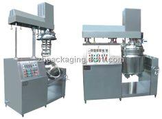 Cream Vacuum Emulsification Blender (ZRJ-100) - China Vacuum Emulsification Blender;Vacuum Emulsification Machine;vacuum homogenizer, ZHO...