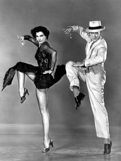 The Band Wagon, Cyd Charisse, Fred Astaire, 1953 Photographie