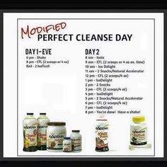 Modified Cleanse Day!!