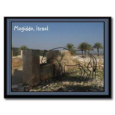 Megiddo Israel Postcard