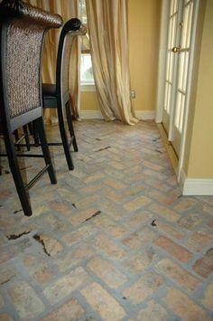 Old Chicago Antique Brick Floor Tile