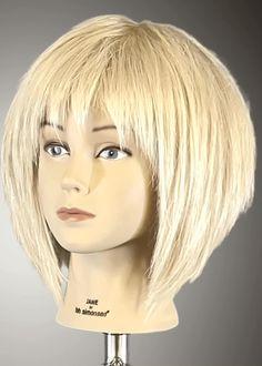 Hair Cutting Techniques, Hair Cutting Videos, Shaggy Long Hair, Shaggy Bob Haircut, Short Hair With Layers, Short Hair Cuts, Short Platinum Blonde Hair, Medium Hair Styles, Curly Hair Styles