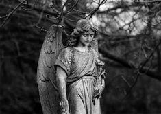 Teddington - graveyard statue by waldopepper, via Flickr