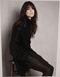 Charlotte Gainsbourg shot by Patrick Demarchelier
