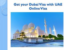 Get your Dubai Visa with UAE Online Visa Do you really want a Dubai visa? Then you are at right place. We are always there for you to provide a good Dubai visa service at the best price. Don't waste your time and book your visa with us!