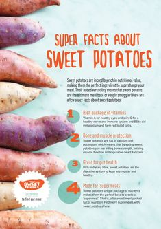 9 Foods You Already Eat That Are Awesome for Your Health Nutrition nutrition facts sweet potato Nutrition Education, Sport Nutrition, Nutrition Sportive, Nutrition Quotes, Holistic Nutrition, Proper Nutrition, Nutrition Plans, Diet And Nutrition, Health And Nutrition