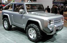 The 2015 Ford Bronco - Will have a 4.5 liter Diesel option and 4 wheel drive chassis of an f150.