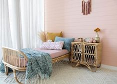 The Cruz Toddler Bed is classically cool. Made from sustainable rattan wood, the Cruz Toddler Bed is a handsome addition to any kids bedroom. Kids Bed Furniture, Large Furniture, Cool Furniture, Teak Table, Wooden Dining Tables, White Washed Oak, Low Stool, Oak Color, Bed Base