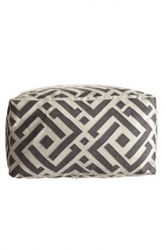 Adorable pouf from Calypso St. Barth.  $425.