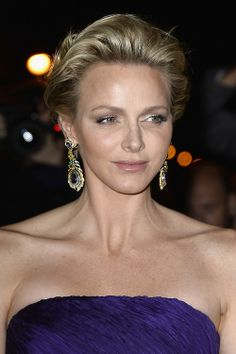 Princess Charlene of Monaco turns 36 years old today, born on 25 January 1978