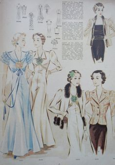 Sew Something Vintage: For Sale - 1930s German Sewing Pattern Magazine