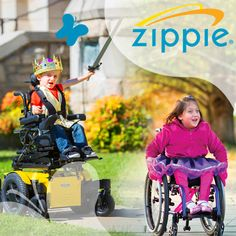 The Zippie ZM-310 combines our smallest, most reliable power wheelchair base w/ clinically proven pediatric seating & positioning options to provide children maximum accessibility and independence. The Zippie X'CAPE pediatric folding wheelchair is the first ever wheelchair with XLOCK™ technology for the performance of a rigid frame & the convenience of a folding frame. Designed for active & growing kids, the X'CAPE weighs as little as 19 lbs.