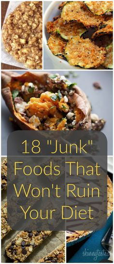 Clean eating tips for beginners. | These healthy recipes taste just like your favorite junk foods, but are actually good for you.
