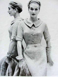 INSTANT PDF 1950s Vintage Ribbon Knitting door vintagepatterncopies, $5.00