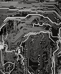Circuit Board Detail - photograph by Will Wilson Gui Interface, Circuit Board Design, Ex Machina, Glitch Art, Tecno, Art And Architecture, Textures Patterns, Art Boards, Cyberpunk