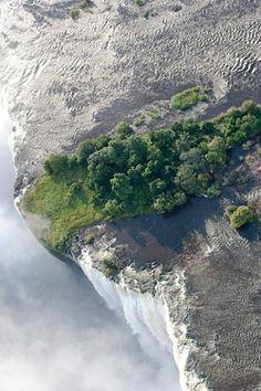 The Victoria Falls   Zimbabwe