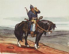 Виктор Васнецов.   Богатырь. Витязь на коне.   Victor Vasnetsov.   Bogatyr. The knight on the horse.