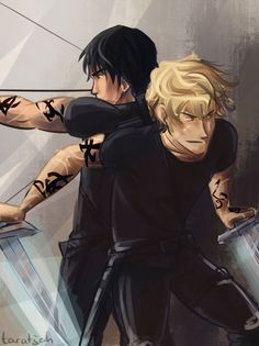 Parabatai - Jace and Alec The Mortal Instruments