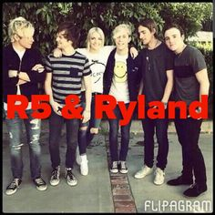 R5 & Ryland flipagram made by Kaitlyn's Collages (@kaitlynbeasley1) for @kpittaro !! Thank for soing the R5 challenge!! If you want one please comment what you want!! If you repin please give credit!! :)