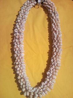 Cowry Shell Lei by hulamelani on Etsy