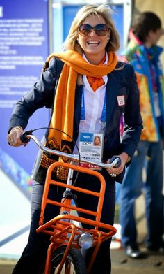 MYROYALS &HOLLYWOOD FASHİON:   Queen Maxima visited the Olympic Village in Sochi, February 8, 2014