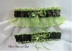 OMG! Really??? It couldn't get any better than this! Lime green (our wedding color) AND Camo for my fiance! Ment to be!!