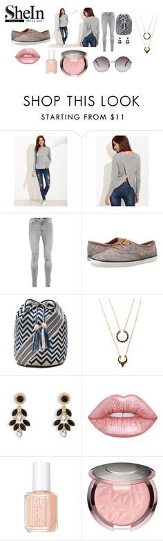 """""""Shein contest 10/26"""" by shannongarner on Polyvore featuring Keds, Guanábana, WithChic, Vera Bradley, Essie and Monki"""