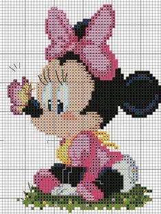 Kanaviçe Mickey Mouse Örnekleri (47)