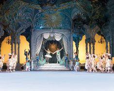 Cinderella-- incredible backdrop!