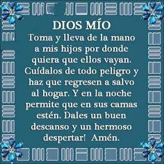 Que asi sea, Amen, God Prayer, Prayer Quotes, Bible Quotes, Bible Verses, Prayer Verses, Spanish Prayers, Catholic Prayers, Prayer Board, Spanish Quotes