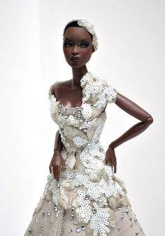 when a doll inspire your wedding day...