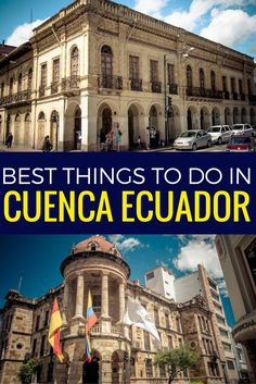 Cuenca Ecuador is one of my favourite cities, it has all the charm of Quito without the fear of being robbed.
