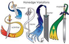 Honedge-variations by wccomics on DeviantArt