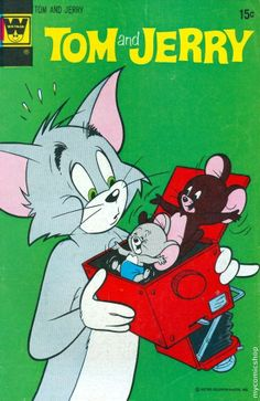 Tom and Jerry (1949 Whitman) #266