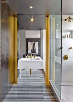 Un apartamento masculino y sexy en Manhattan · A sexy, masculine apartment in Manhattan (via Bloglovin.com )