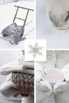 moodboard - winter white / grey.. voor meer inspiratie www.stylingentrends.nl of www.facebook.com/stylingentrends