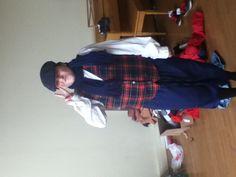 Me in my Christmas carol costume
