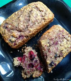 "This moist and healthy triple berry quick bread is so delicious, plus whips up in minutes with a homemade baking mix. (Includes directions for making this a great ""box mix"" gift #recipes #baking #berries"