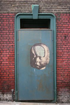 Derelict Doorway in Smithfield - with Paul Insect Graffiti via Flickr. & Dudley   Doors Architecture and Facades