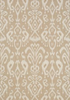 Bravado Ikat #wallpaper in #linen from the Neutral Resource collection. #Thibaut