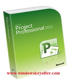 Project professional 2010 retail versions with the download link and a genuine license key ,only $25.99