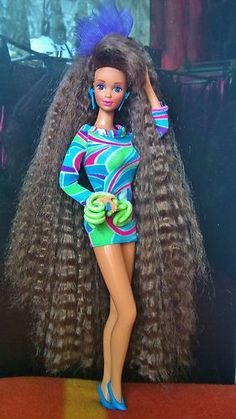 Totally Hair Teresa - she came with real hair gel!