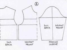 Dessiner le patron d'une manche raglan sur mesure • Hellocoton.fr