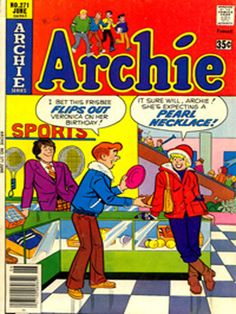 Archie Comics. I still have a few of these, and Little Lotta, Richie Rich, Casper and a few others. My kids enjoy reading them!