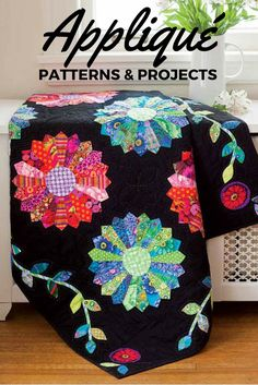 Appliqué quilt patterns are the perfect way for quilters of any level to add a little something extra to their projects. Come see the appliqué patterns offered from Fons & Porter all in one place!