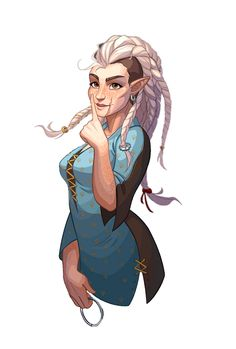 Female Halfling Rogue Thief Portrait - Pathfinder PFRPG DND D&D 3.5 5th ed d20 fantasy