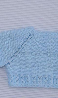 puntomoderno.com Knitted Baby Cardigan, Baby Blanket Crochet, Crochet Baby, Knit Crochet, Tricot Baby, Diy Bebe, Baby Coat, Baby Socks, Sewing Basics