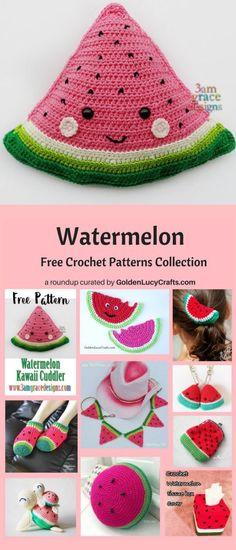 Crochet watermelon cuddler, crochet watermelon patterns, watermelon free crochet patterns collection, watermelon free crochet patterns, crochet craft, crochet ideas, crochet project, #crochetwatermelon, #crochet, #crochetpattern, crochet patterns