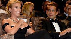 Scarlett Johansson and Romain Dauriac