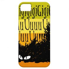 """""""Growling Cat"""" iPhone 5 Cover :) --- #Cat #Kitten #iPhone #mobile #Case"""